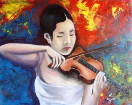 La violoniste chinoise