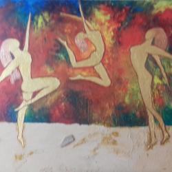 danse sur le sable